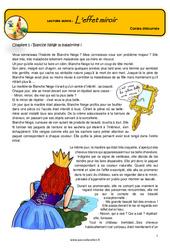 L'effet miroir – Conte détourné – Questionnaires : 4eme, 5eme Primaire
