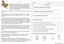 Petit coq – Récit – Lecture compréhension : 2eme Primaire