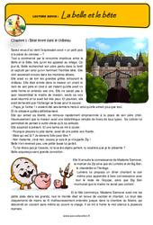 La Belle et le Bête – Conte détourné – Questionnaires : 4eme, 5eme Primaire