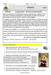 Pouponnière et le grand hamster – Lecture – EDL : 2eme, 3eme Primaire