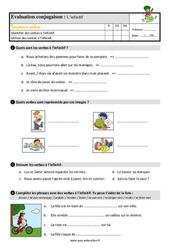 L'infinitif du verbe – Étude de la langue – Examen Evaluation avec les corrigés : 3eme Primaire