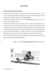 Une évasion – Recit – Lecture : 6eme Primaire