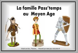 Moyen Âge – Diaporama, frise, généalogie… : 4eme Primaire
