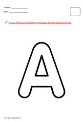 Alphabet en maternelle – Décorer chaque lettre avec une consigne différente : 1ere, 2eme, 3eme Maternelle – Cycle Fondamental