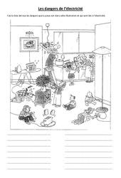 Les dangers de l'électricité – Cours, Leçon – Sciences : 3eme, 4eme, 5eme Primaire