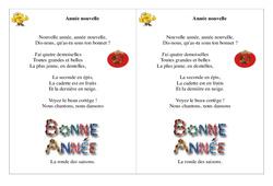 Année nouvelle – Poésie, poème – Nouvel an : 2eme Primaire