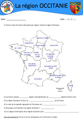 Occitanie – Je découvre ma région : 4eme, 5eme Primaire