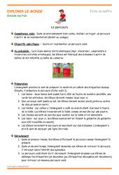 Parcours – Plan de séquence : 3eme Maternelle – Cycle Fondamental