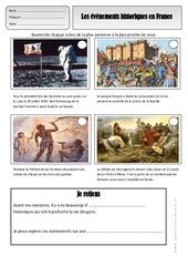 Histoire de france – Exercices – Espace temps : 2eme Primaire