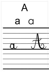 Alphabet – Affichages – Outils pour la classe : 1ere Primaire