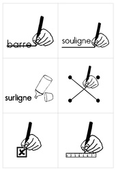 Affiches de consignes – Affichages – Outils pour la classe : 1ere Primaire