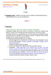 L'ouïe – Fiche de préparation : 2eme Maternelle – Cycle Fondamental