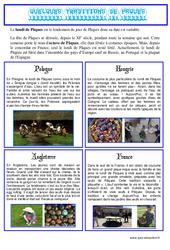 Pâques – Texte documentaire – Lecture compréhension : Primaire – Cycle Fondamental