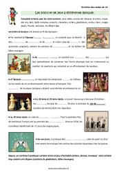 Loisirs et jeux à différentes époques – Cours, Leçon : 3eme Primaire