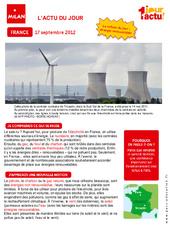 Les énergies renouvelables – Documentaire – Lecture : 3eme Primaire