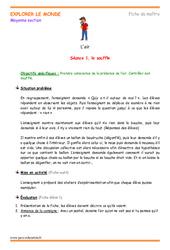 Air – Séquence : 2eme Maternelle – Cycle Fondamental