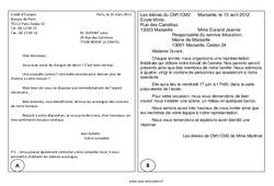 La lettre – Textes prescriptifs – Fonctionnels – Lecture : 4eme, 5eme Primaire