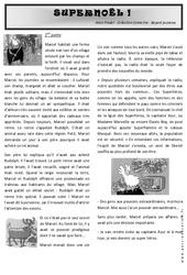 Super noël – Lecture suivie + Tapuscrit – C2 : 3eme, 4eme, 5eme Primaire
