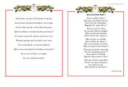 Poèmes de Noël – Vie de la classe : Primaire – Cycle Fondamental