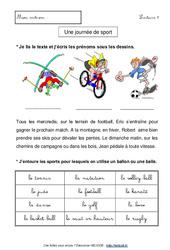 Mes premières – Fiches de lecture – Lecture et compréhension – Français : 1ere, 2eme Primaire