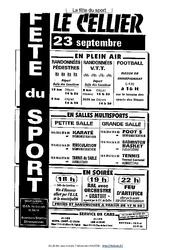 Affiche – Fête du sport – Lecture fonctionnelle – Français : 3eme, 4eme, 5eme Primaire