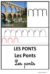 Ponts – Graphisme – Affichages pour la classe : 1ere, 2eme, 3eme Maternelle – Cycle Fondamental