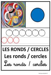 Ronds – Graphisme – Affichages pour la classe : 1ere, 2eme, 3eme Maternelle – Cycle Fondamental