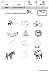 Son o – Phonologie : 2eme, 3eme Maternelle – Cycle Fondamental