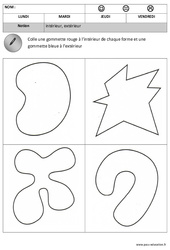 Intérieur – Extérieur – Espace : 1ere, 2eme Maternelle – Cycle Fondamental