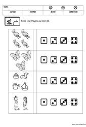 Correspondance – Quantité – Quantités et nombres : 2eme, 3eme Maternelle – Cycle Fondamental