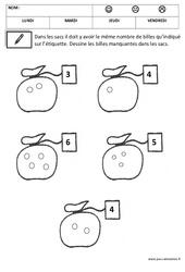 Surcompter – Quantités et nombres : 2eme, 3eme Maternelle – Cycle Fondamental