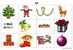 Noël – Imagier : 1ere, 2eme Maternelle – Cycle Fondamental