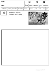 kandinsky – Puzzle – Logique : 3eme Maternelle – Cycle Fondamental