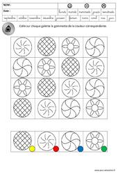 Discrimination visuelle – Galettes – Lecture – Fête des rois : 3eme Maternelle – Cycle Fondamental