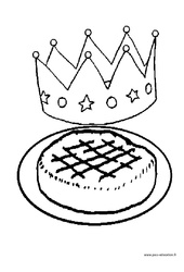 Coloriages – Fête des rois : 3eme Maternelle – Cycle Fondamental
