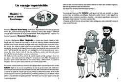 Un voyage imprévisible – Lecture 1 – Paléolithique – Famille Pass'Temps : 3eme, 4eme, 5eme Primaire
