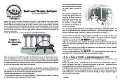 Tout sauf Rome Antique! Lecture 4 – Gaule Romaine – Famille Pass'Temps : 3eme, 4eme, 5eme Primaire