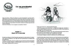Un coq providentiel – Lecture 5 – Moyen Age – Famille Pass'Temps : 4eme, 5eme Primaire