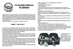 Un chevalier bâtisseur de châteaux – Lecture 6 – Moyen Age – Chevaliers et seigneurs – Famille Pass'Temps : 4eme, 5eme Primaire