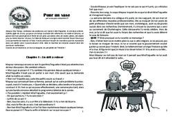 Pour un vase – Lecture 7 – Clovis – Famille Pass'Temps : 4eme, 5eme Primaire