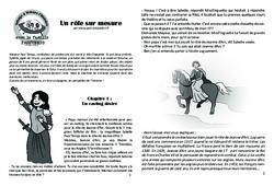 Un rôle sur mesure – Lecture 8 – Jeanne d'Arc – Famille Pass'Temps : 4eme, 5eme Primaire