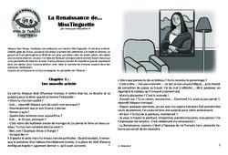 La Renaissance de… MissTinguette – Lecture 9 – Famille Pass'Temps : 4eme Primaire