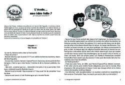 L'école… une idée folle? Lecture 14 – Jules Ferry – Famille Pass'Temps : 4eme, 5eme Primaire