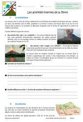 Activités internes de la Terre – Exercices : 6eme Primaire