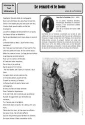 Le renard et le bouc – Jean de La Fontaine – Arts du langage – Histoire des arts : 4eme, 5eme Primaire
