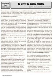 Les lettres de mon moulin – Alphonse Daudet – Arts du langage – XIXe siècle – Histoire des arts : 4eme, 5eme Primaire