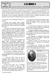 Cinq semaines en ballon – Jules Verne – Arts du langage – XIXe siècle – Histoire des arts : 4eme, 5eme Primaire
