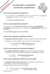 Qu'est – ce que les propositions? : 4eme, 5eme Primaire