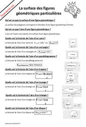 Comment calculer la surface d'un polygone? : 2eme, 3eme, 4eme, 5eme Primaire