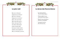 Noël – Poèmes : 1ere, 2eme Primaire